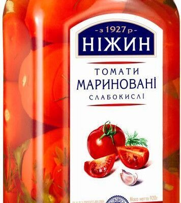Pomidory marynowane i kiszone