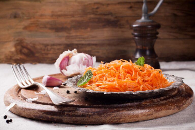 marchewka po koreańsku przepis