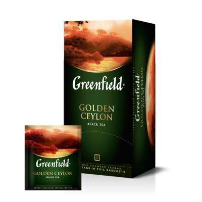 Herbata czarna Golden Ceylon Greenfield 25szt